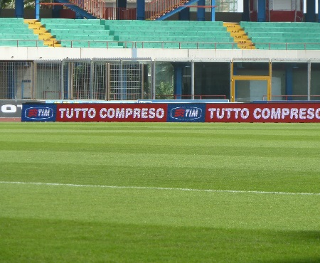 bordocampo led serie A calcio catania