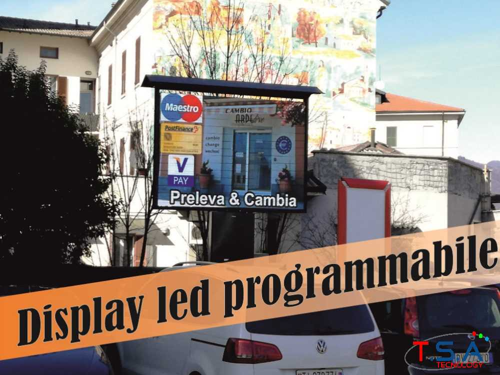 display led programmabile tsa tecnology