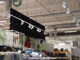 display led per scaffali supermercati Conad Rimini San Marino TSA LED